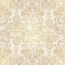 vector seamless background in victorian style stock illustration