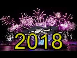 tenerife spain 2018 fireworks happy new year