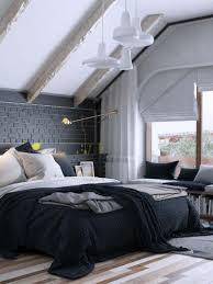 chambre moderne noir et blanc chambre moderne adulte blanche