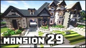 minecraft mansion 29 youtube