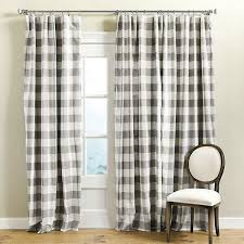 Black And White Checkered Curtains Endearing Black And White Plaid Curtains Decorating With Curtain