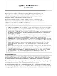Business Letter Format Styles Types Of Business Letter Internship Communication