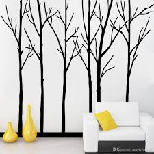 extra large black tree branches wall art mural decor sticker material pvc size xcm pack foam rod with poly bag usage home decor pattern large tree trunk