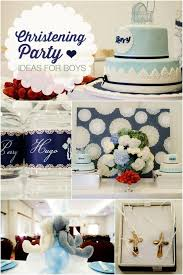 Baptism Party Decorations 11 Baptism And Christening Reception Party Ideas Spaceships And