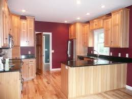 what paint color goes best with hickory cabinets wall colors with hickory cabinets page 1 line 17qq
