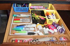 How To Organize Your Desk Organize Your Desk Drawer Organize With Sandy