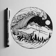 by crispyjart to do line art pinterest tattoo drawings and