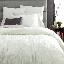 textured duvet covers queen crinkle duvet cover shams stone white