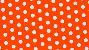 Polka Dot Wallpaper Wallpaper Hexagon White Polka Dots Orange Ff4500 Ffe4e1 Diagonal