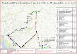 Noida Metro Route Map by Bus 55 Route The Best Bus
