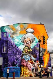 Mural Wall Art by Mural Festival In Montreal Stakes A Claim For Street Art North