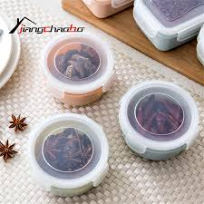 compare prices on kitchen container sets online shopping buy low new sealed crisper set plastic moistureproof round shape food storage box kitchen containers food storage containers