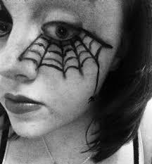 halloween eye makeup spider web sparebitofsparkle halloween eye makeup