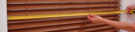 how to measure for venetian blinds
