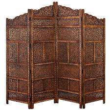 28 wood divider 74 quot hand painted wood room divider ebay