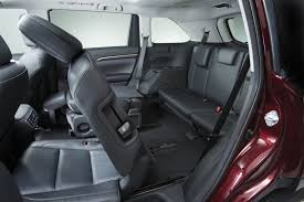 toyota rav4 third row seat five most fuel efficient vehicles with third row seating
