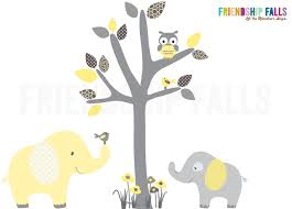 mini jungle decals small elephant wall decal nursery wall zoom