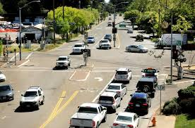 healdsburg roundabout construction delay hurting local businesses