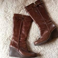 ugg emalie waterproof wedge bootie nordstrom s ugg leather wedge boots on poshmark