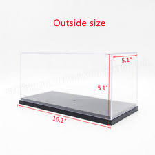 clear acrylic l base diecast toy vehicle display display cases ebay