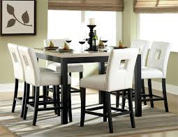 tall white kitchen table tall dining set 5 piece counter height dining set tall dining table