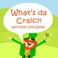 irish slangs gírias irlandesas e galway