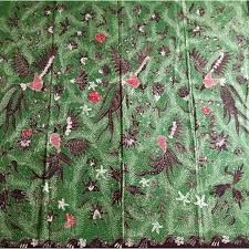 merak hijau kain batik tulis madura merak u0026 kemband ades putih elevenia