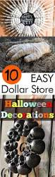 10 easy dollar store halloween decorations my list of lists