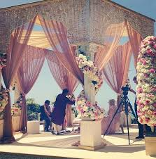 hindu wedding supplies gorgeous mandap at an outdoor wedding indian wedding decor