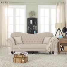 Victorian Leather Sofa Madison Home Usa Classic Tufted Victorian Sofa U0026 Reviews Wayfair
