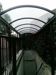 tettoia in ferro tettoie e pensiline rema fabbro muggi祺 monza brianza