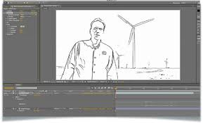 creating an animated sketch with after effects tutorial