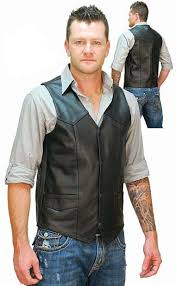 Cowhide Leather Vest 67 Best Men U0027s Leather Vests Images On Pinterest Vests Men U0027s