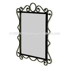 Iron Home Decor Wrought Iron Framed Mirrors Wall Mirrors Wrought Iron Framed
