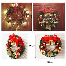 36cm large wreath door wall ornament garland decoration
