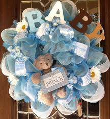 baby shower wreath baby boy wreaths nisartmacka