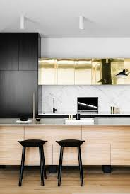 white kitchen design with yellow accent multiple minimalist