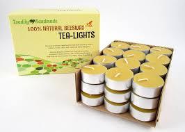 how long do tea lights burn amazon com 36 hand poured beeswax tea light candles in natural