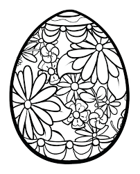 christian easter coloring pages for adults egg box page holiday