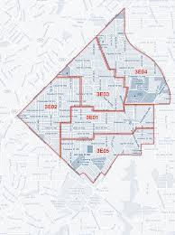 Washington Dc Zip Code Map anc3e about