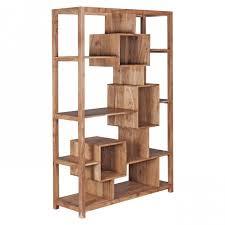 Wohnzimmer Regale Design Finebuy Bücherregal Massiv Holz Akazie 115 X 180 Cm Wohnzimmer