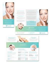 nail salon brochure template designsalon brochure flyer design