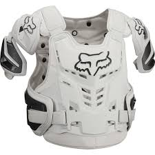fox motocross body armour fox mx chest protector raptor vest light grey 2018 maciag offroad