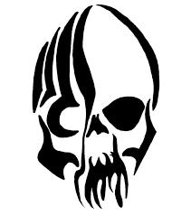 skull tribal designs tribal skull tattoos designs and