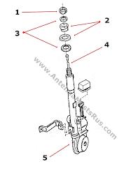 1987 1993 cadiallac allante antenna parts 10023825 22138007