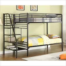 Wood And Metal Bunk Beds Alluring Metal Bunk Bed With Futon With Metal Futon Bunk Bed