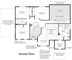 Georgian Floor Plan by Mountain View At Hunterdon The Chelsea Home Design