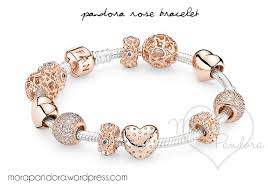 silver rose bracelet jewelry images Rose gold pandora bracelet png