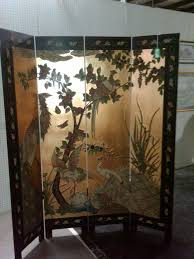 furniture vintage chinese room divider screens for your interior