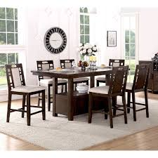 counter height dining sets amazing dining room table height home
